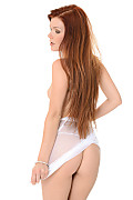 Mia Sollis White Gossamer  istripper model